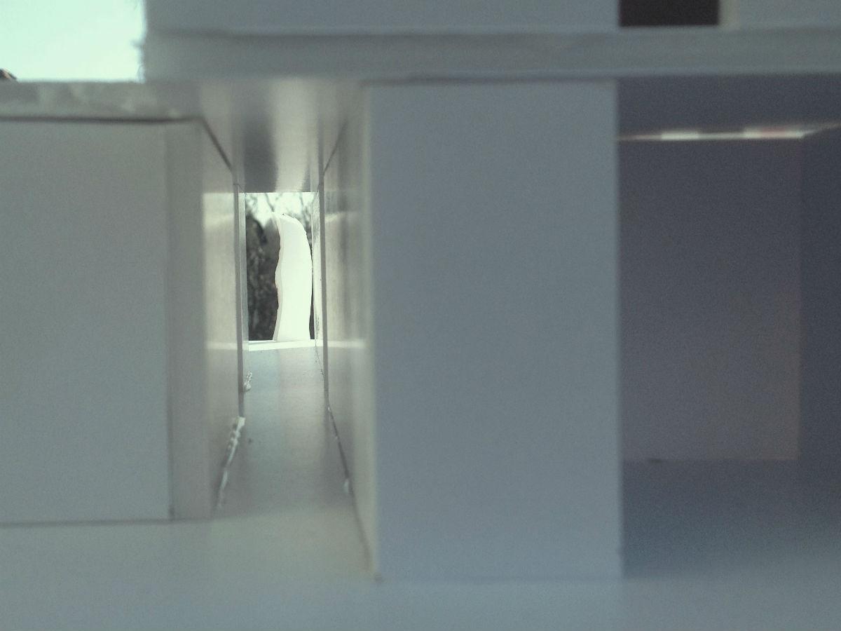 Modell des Hausflurs