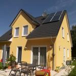 Einfamilienhaus in Gelb