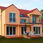 Architektenhaus Gartenansicht