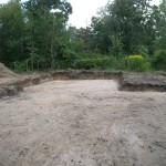 Baugrundstück fertig zum Bauen