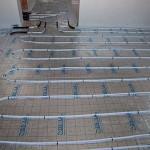 Fußbodenheizung Einfamilienhaus