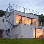 Kubus mit Aublick Einfamilienhaus