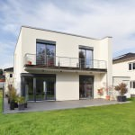 Architektenhaus von Kosima mit Balkon