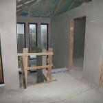 Obergeschoss Rohbau Treppenabgang