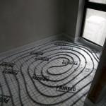 Fußbodenheizung Draufsicht