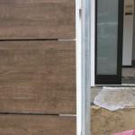 Holzfassade Detailansicht