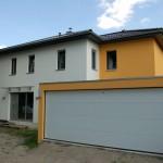 Garage eines Einfamilienhauses
