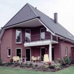 Romantika Einfamilienhaus vom Garten