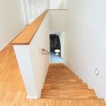 Treppenansicht von oben