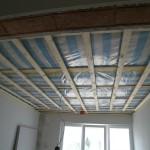 Trockenbau Decke und offener Sturz