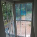 Fensteransicht innen zum Garten