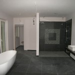 Badezimmer Sadttvilla im Günen